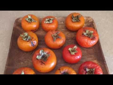 How to Ripen Persimmons ASAP!! :)