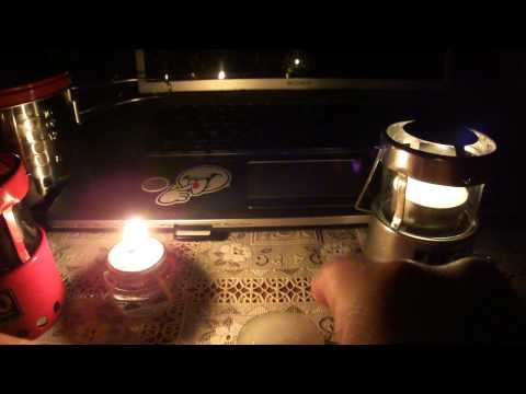 UCO MICRO Lantern (Difference between oil and wax/candle brightness in the dark)