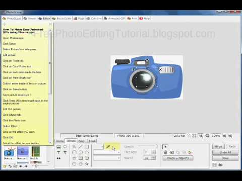 How To Make An Easy Animated GIF using Photoscape