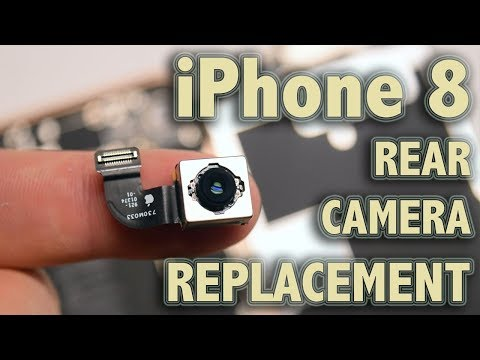 iPhone 8 Rear Camera Replacement
