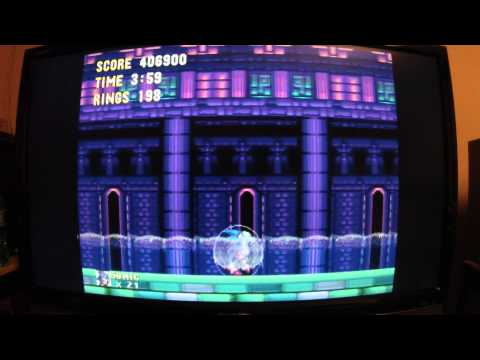 Drunk casual Sonic 3 playthrough.