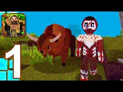 PrimalCraft 3D - Gameplay Walkthrough Part 1 (iOS)