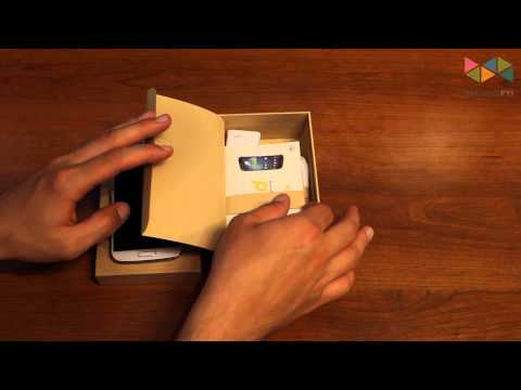 Samsung Galaxy S 4 Unboxing