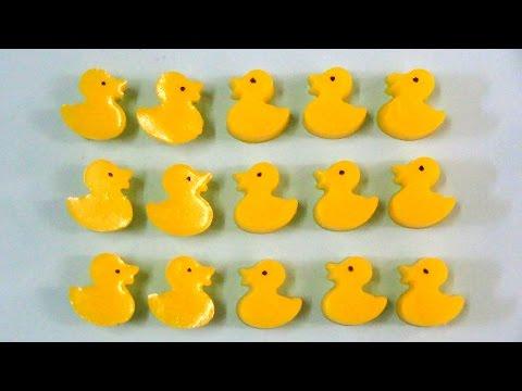 how to make gummy jello pudding ducks