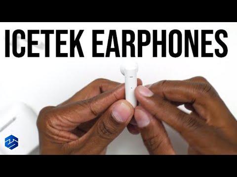 ICEtek TWS T01 In-Ear Headphones with Built-In Mic & Charging Case