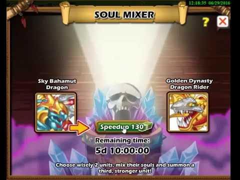Social Empires Soul Mixer Combinations
