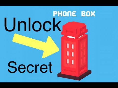 Crossy Road: Unlock Secret Character (Phone Box)