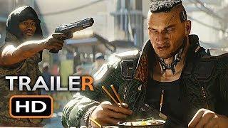 Cyberpunk 2077 Trailer (E3 2018) Sci-Fi RPG Video Game HD