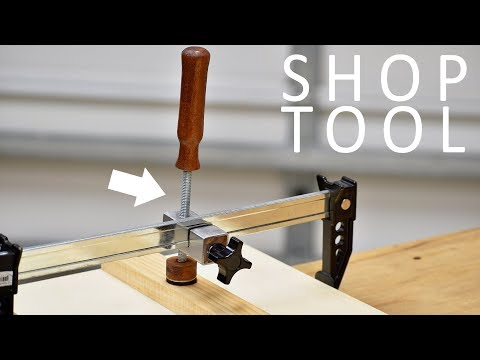 Woodworking Clamp Attachment ( DIY )