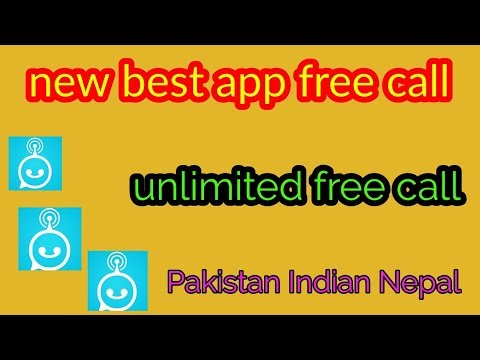 Free call unlimited best app and Urdu Hindi 2017