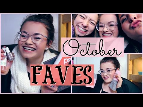 October Favorites! Beauty, Fashion, Food, TV & More!