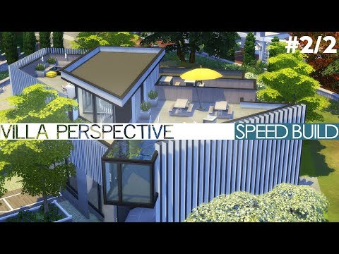 The Sims 4 Speed Build - VILLA PERSPECTIVE (#2/2)