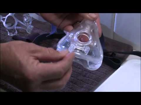 ResMed Mirage Quattro FX Full Face CPAP Mask - Cleaning