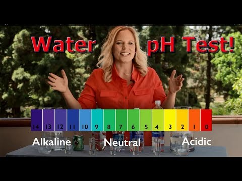 Testing pH levels in water - Don't drink bottled water until you watch this!