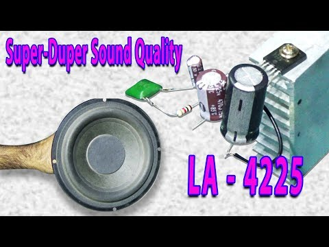 How To Make Ultra Bass Amplifier (Super/ Duper Sound Quality)