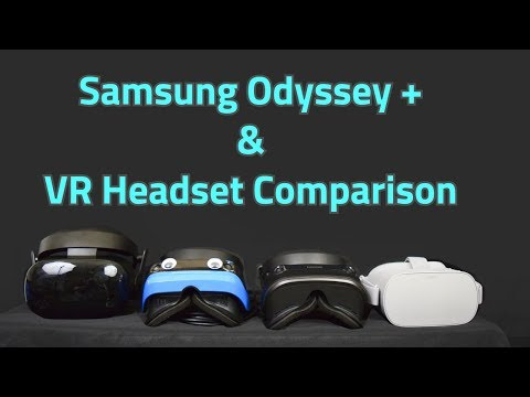 Samsung Odyssey+ HMD Comparison and Review