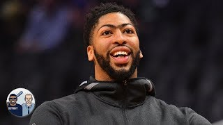 Anthony Davis joins LeBron in recruiting players to the Lakers | Jalen & Jacoby