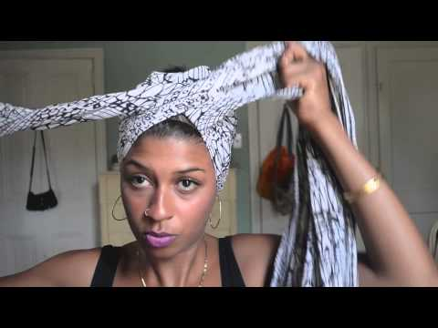 How To Do A HeadWrap Like Erykah Badu