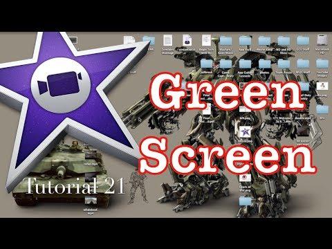 Green Screen in iMovie 10.0.1 Pt. 1   Tutorial 21