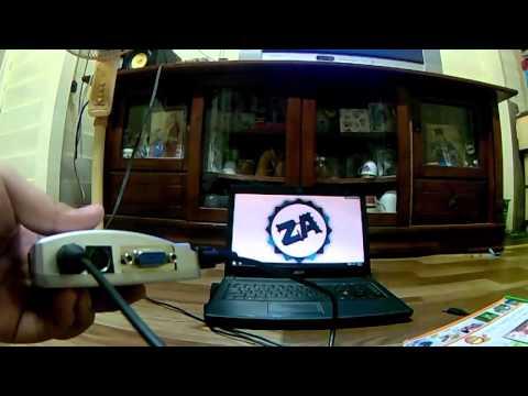 KONGSI: CARA SAMBUNGKAN LAPTOP ANDA KE TV LAMA
