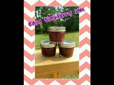 How to make Blackberry Jam without pectin