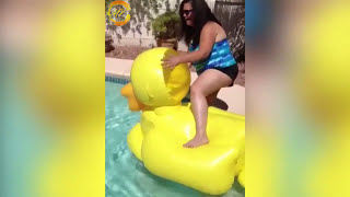 *HARDEST* Try Not To Laugh Challenge Funny Kids Fails Compilation 2017 | Funny Pool Fail Compilation
