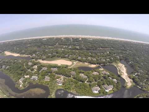 Kiawah Island, South Carolina Phantom 2 drone GoPro footage