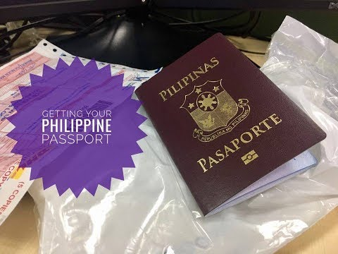 GETTING YOUR PHILIPPINE PASSPORT VLOG #10