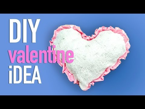 HOW TO MAKE HEART PILLOW