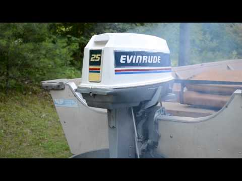 1983 25hp Evinrude Outboard motor