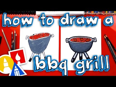 How To Draw A BBQ Grill