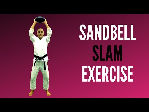 Sensei Toru Shimoji - Sandbell Slam Exercise for Vitality and Core Strength