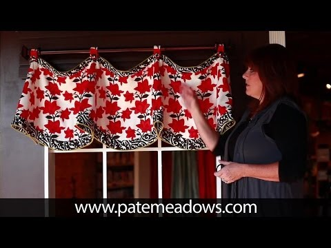 Claudine Valance Sewing Pattern