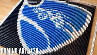 ROCKET LEAGUE MADE FROM 6,500 DOMINOES | Domino Art #30