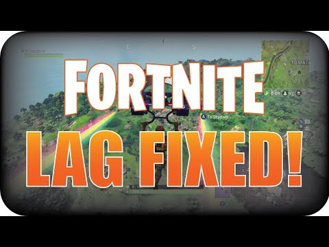 FORTNITE Battle Royale: How to Fix Lag and Increase Performance