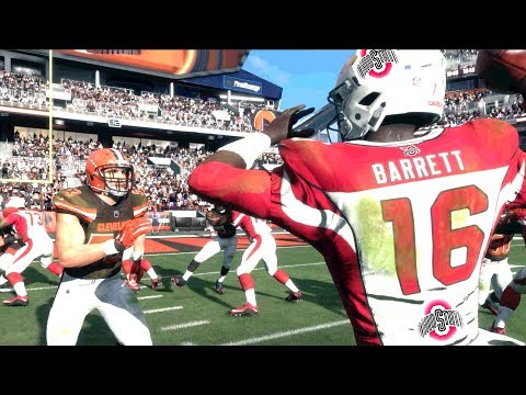 Can A NCAA Team Defeat The Cleveland Browns In Madden 18?