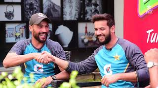 Tum Mein Aik Cup Chai Aur Cricket | Wasim Akram, Mohammad Amir & Imad Wasim | PAKvSL 2019