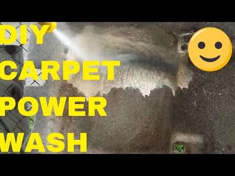 Tips For Power Washing Automotive Carpets