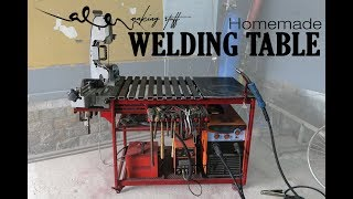 Homemade WELDING TABLE (rotary table)