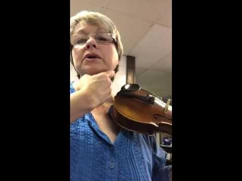 Sponges & violin hold