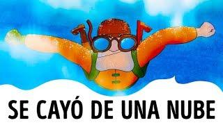 El hombre que casi se ahoga mientras caía del cielo