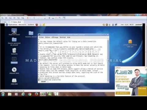 Configuration FTP sous Linux 2016