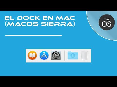 05- El Dock en Mac (macOS Sierra)