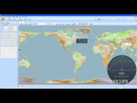 How To setup HRD Satellite Tracking Software