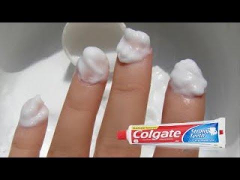 Colgate नाखुनो को इतनी तेजीसे लम्बा कर देगा की तंग आकर काटने पड जायेंगे / Long Healthy Nails Tips