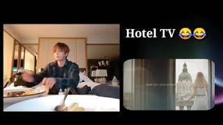 정국 트위터 BGM 의 진짜 정체는 호텔영상