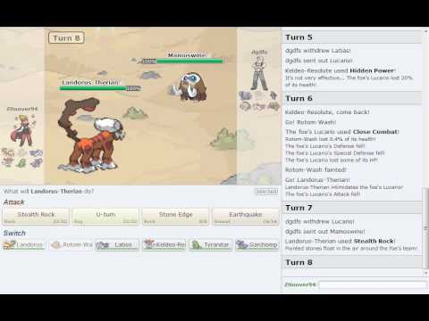 Pokemon Showdown Battle Series [OU] - Battle #2