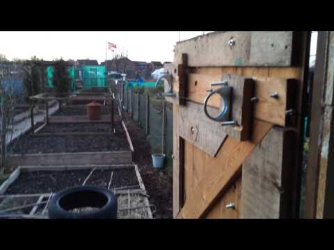 Allotment Shed Security