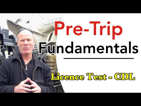 How to Pass a CDL Pre Trip Inspection Test | CDL Road Test Smart