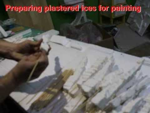 Preparing plastered ices for painting part2